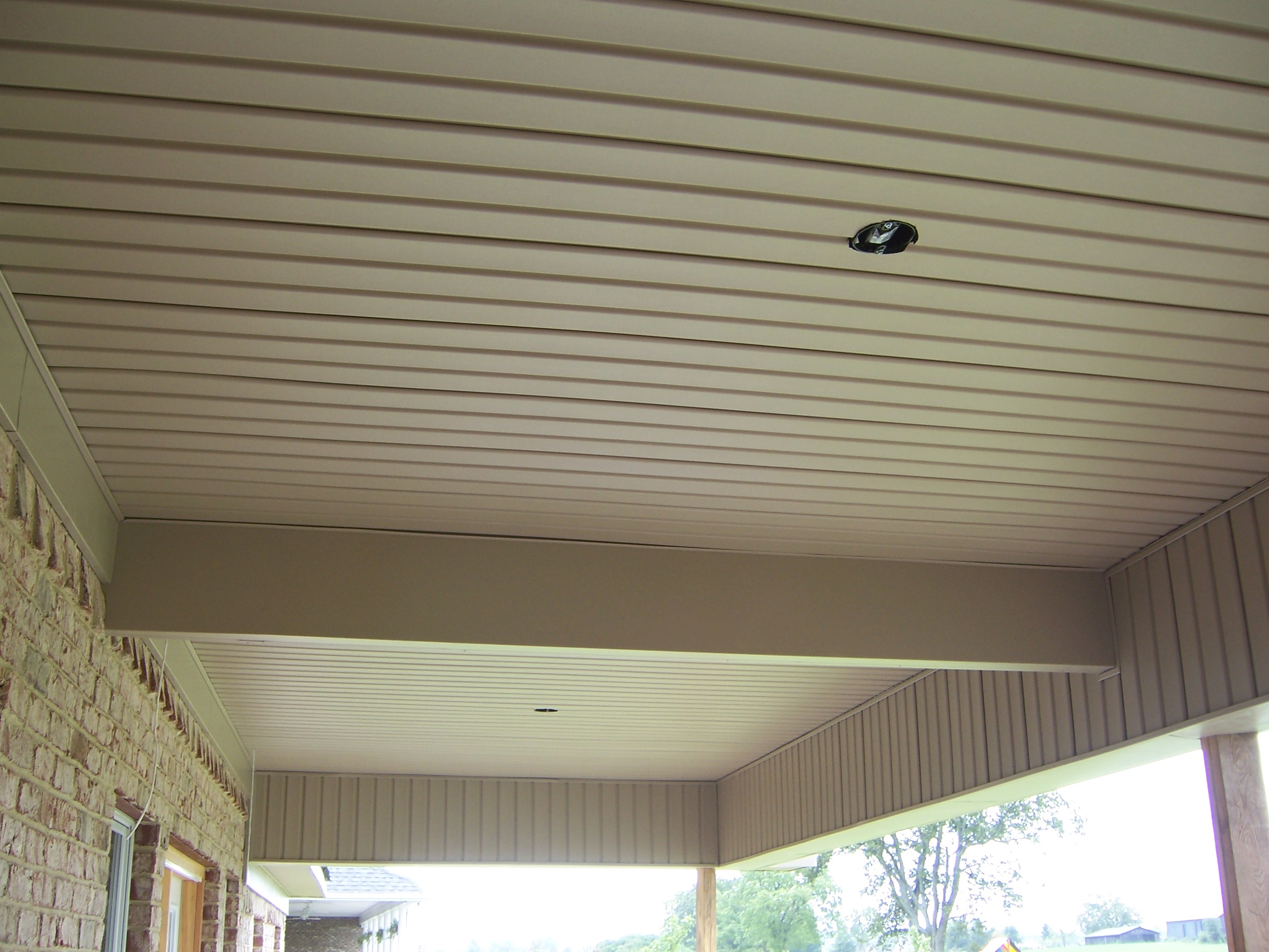 Vinyl Outdoor Ceiling Panels Images